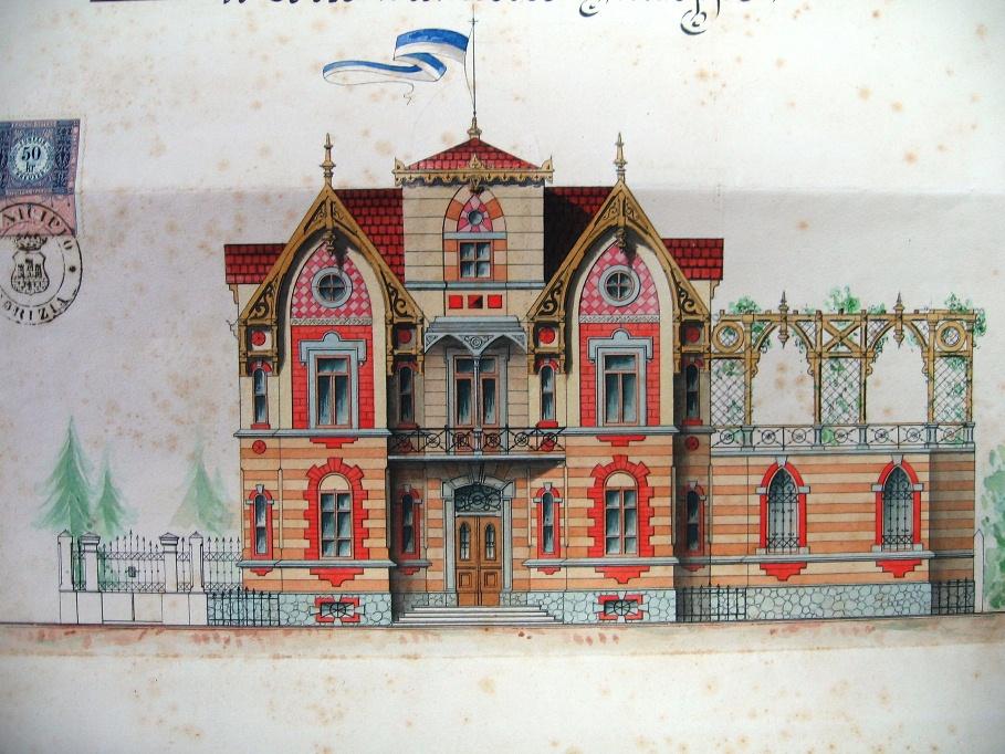 voden ogled: Vile v Gorici od leta 1850 do leta 1900